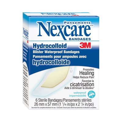 """Nexcare"" blister waterproof bandages"