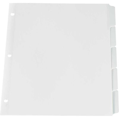 Write-On Index Dividers