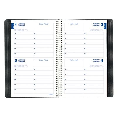 Two-Days Perpetual Date Book