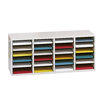 Wood Mailroom Organizer