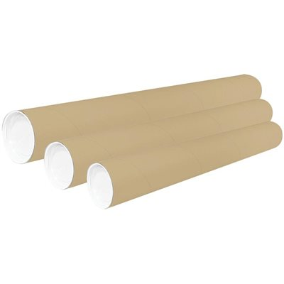 Mailing Tubes With End Cap