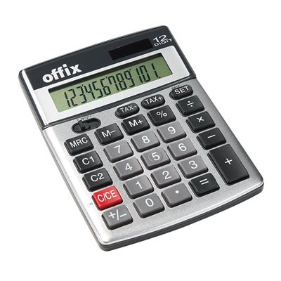 Offix®  D18TE Desktop Calculator