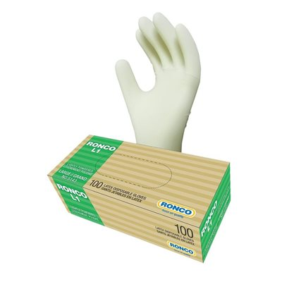 L1 Latex Disposable Gloves
