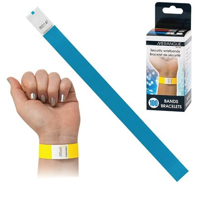 Paper Security Wristband