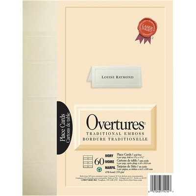 Overtures® Place Cards
