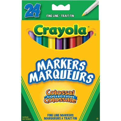 Colossal Fine Line Markers