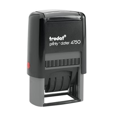 Printy Dater 4750 Self-Inking Date Stamp