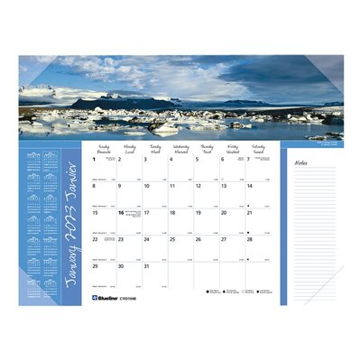 Monthly Desk Pad Calendar (2019)